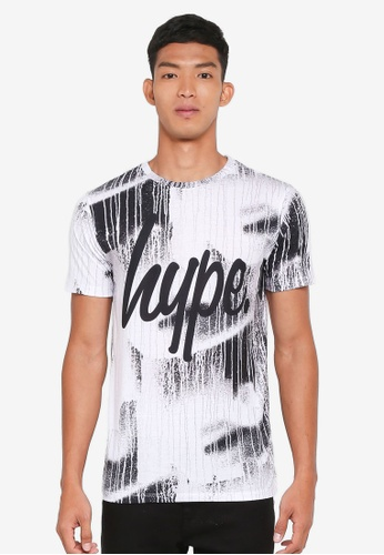 Just Hype white Wall Run T-Shirt 9CD9CAAFE0779CGS_1