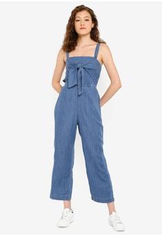475b981268c2a Abercrombie & Fitch Tie Front Cami Jumpsuit HK$ 820.00. Sizes XS S M L