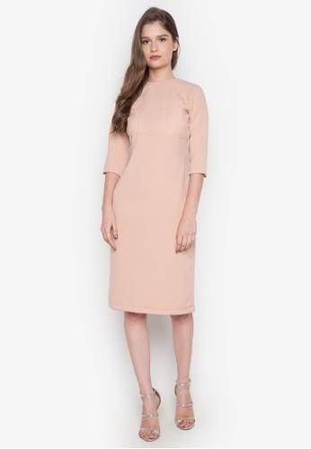 NEW ESSENTIALS pink Dennis Lustico Cocktail Dress NE239AA0JD1PPH_1