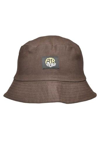 Ftr Merch brown Bucket Plain Brown E441BACE7A980EGS_1