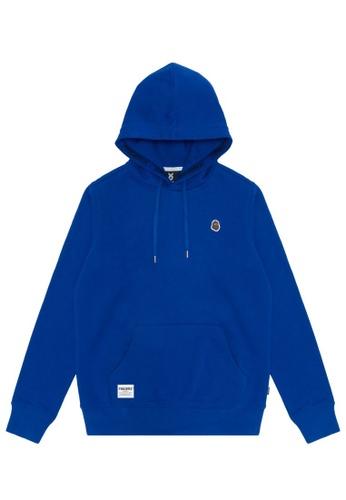 Fingercroxx blue Bigfoot badge hoodie BCCC1AA5EB983AGS_1