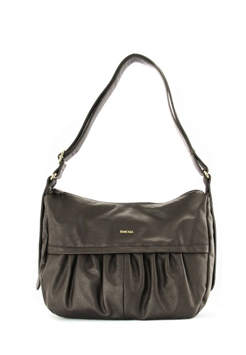 SEMBONIA brown SEMBONIA Synthetic Leather Crossbody Bag (Brown) 1B295AC03D31FDGS_1