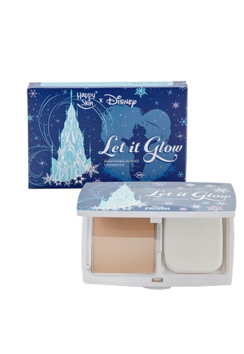 Happy Skin beige Let It Go Brightening Powder Foundation In Natural Beige HA428BE79UYMPH_1