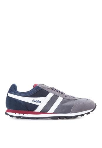 Gola grey and navy Boston Sneakers GO513SH34TRHPH_1