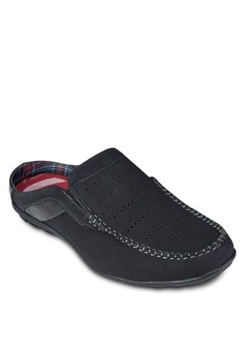沖孔包頭拖鞋, 鞋, esprit女裝鞋