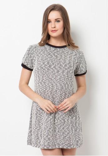 Endorse black and white Endorse Dress Ivanka Mtf Black White END-PL008 EN861AA88QLJID_1