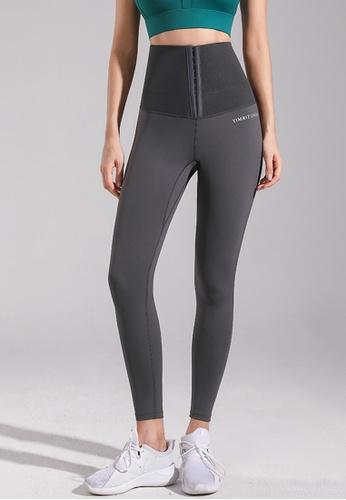 Trendyshop grey High-Elastic Fitness Leggings A3671US61A313DGS_1