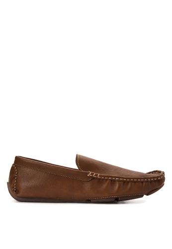 Mendrez brown Carson Loafers ME992SH0KG1ZPH_1