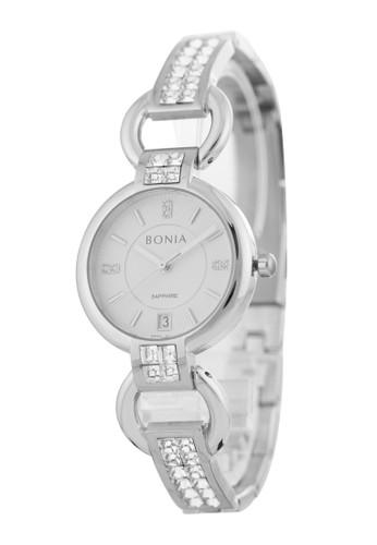 BONIA silver Bonia B10383-2312 - Jam Tangan Wanita - Silver 82C0AAC6D488B2GS_1