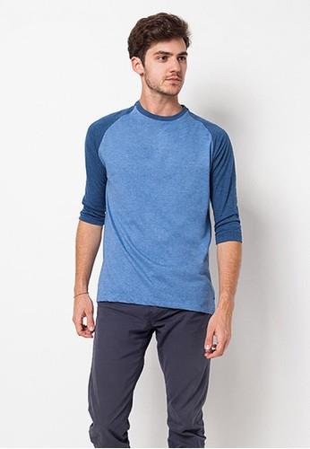 bloop Bloop Tshirt Plain MistyBlue BLP-QB013 BL860AA85MJQID_1