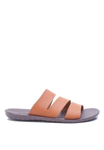 Dr. Kevin brown Dr. Kevin Men Sandals 17164 - Tan DR982SH91IJOID_1