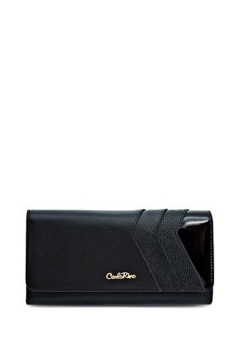 Carlo Rino black Carlo Rino 0303685-502-08 3-fold Long Wallet CA220AC54EMJMY_1