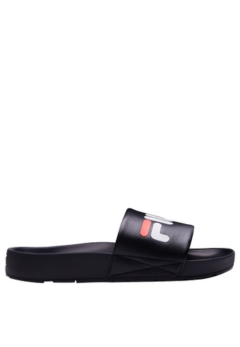 FILA black Logo Slippers 5BB8BSHDD14176GS_1