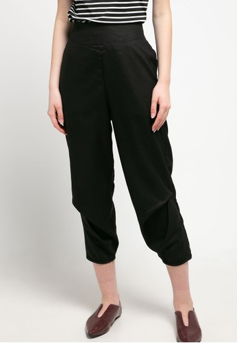 Magnificents Ladies black Women Relaxed Pants 428A9AA13F6008GS_1