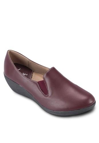 楔型跟樂福鞋, 女鞋, zalora開箱楔形鞋