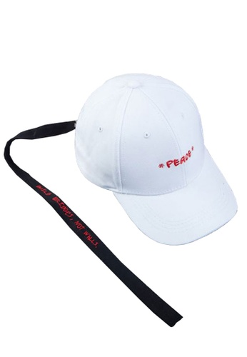 7e5364510 Peace Unisex Baseball Cap in White