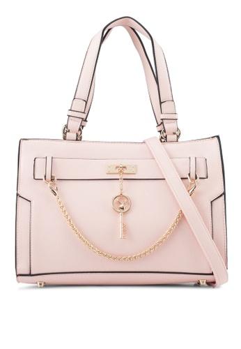 PLAYBOY BUNNY pink Playboy Bunny Ladies Handbag A1874AC324EB93GS_1
