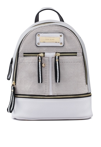 e682549c06 Shop River Island Double Zip Front Backpack Online on ZALORA Philippines