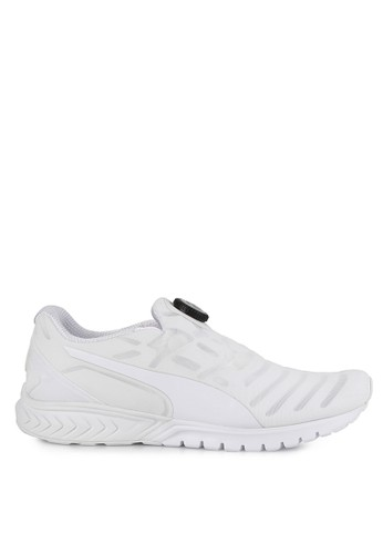 Puma white IGNITE Dual DISC Dip Shoes PU245SH0UPOLID_1