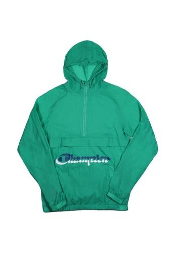 Champion green Champion Anorak Windbreaker Green Myth C4AC3AA0171734GS_1