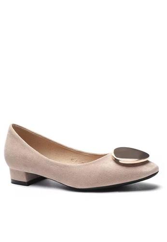 Twenty Eight Shoes Round Buckle Pumps 1205-45 895BASH9C866E7GS_1