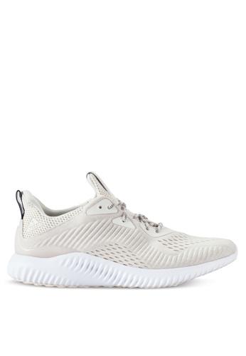 adidas white adidas Performance Alphabounce EM AD372SH38XTXMY_1