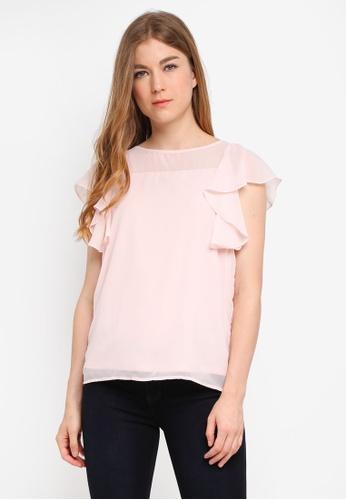 Vero Moda pink Dora Sleeveless Top 524A8AA214BD05GS_1