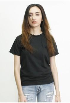 Boyfriend Round Neck Shirt