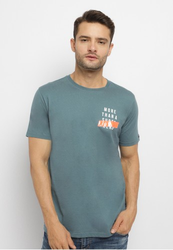 Osella blue Osella Baju Pria Tshirt Print More Than Super Hero C2428AA63ED04AGS_1