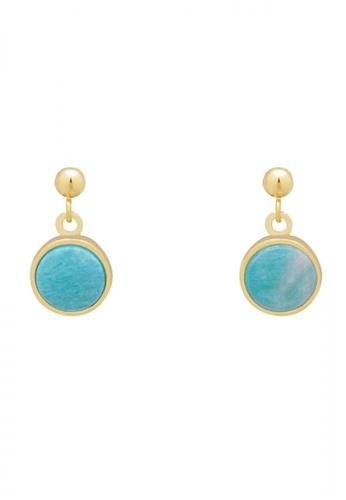 SKEDA blue Beatrice Drop Earrings 61AB7ACAB3B33AGS_1