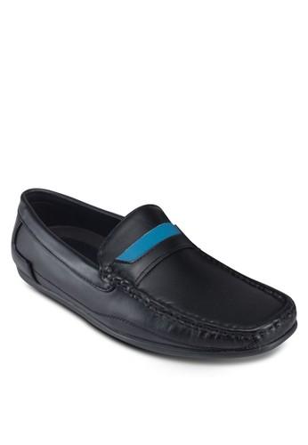拼色方頭仿esprit mongkok皮樂福鞋, 鞋, 鞋