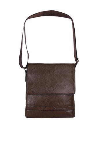 DNJ brown Messenger Bag 0DAE5AC4C0E619GS_1