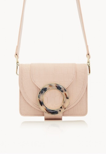 Pomelo Pink Envelope Ring Crossbody Bag Light Ecf86ac92ee742gs 1