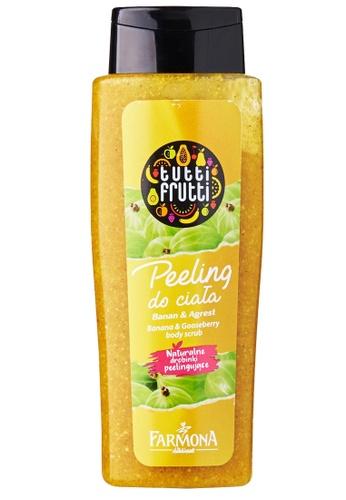 Tutti Frutti Tutti Frutti Banana and Gooseberry Body Scrub 42686BE26CB769GS_1