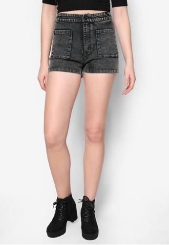Lzalora時尚購物網的koumi koumiove 口袋短褲, 服飾, 休閒短褲