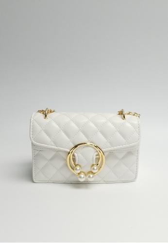 Lara white Women's Elegant Crossbody Bag 0A53AAC3F36BC7GS_1