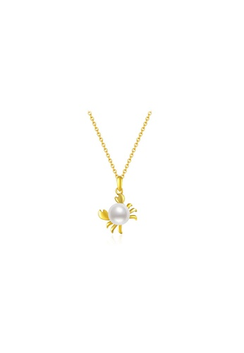 Pearly Lustre gold Pearly Lustre Wonderland Freshwater Pearl Necklace WN00022 D6E8CACAC3AAD8GS_1