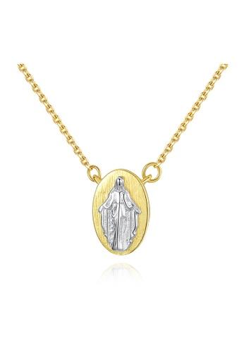 SUNRAIS gold Premium Silver S925 Gold Fashion Necklace C8F05AC27FFC4FGS_1