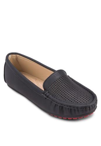 編織拼接樂福鞋, 女esprit地址鞋, 鞋