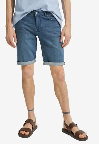 KOTON blue Denim Shorts 83165AAC2DC3B8GS_1