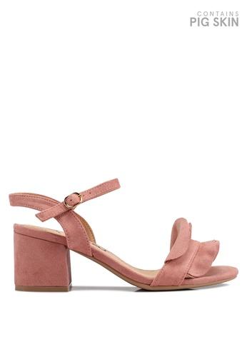 BETSY pink Belle Ruffle Heels 31771SH9C283BBGS_1