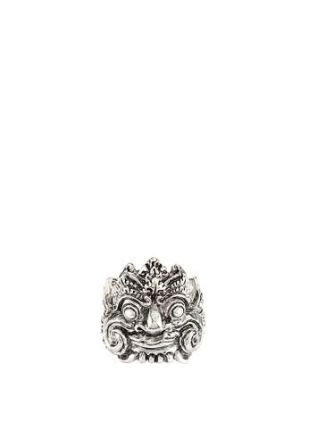 San Marco silver Barong Face SA720AC64VODID_1