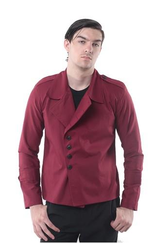 Crows Denim red Crows Denim - Blazer Jaket Red Casual Fashion CR199AA38LUBID_1