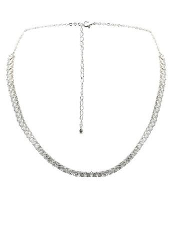 ALDO silver Miraolla Necklace 19DB4ACD06C0F0GS_1