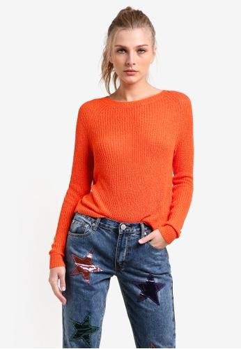 Glamorous orange Ladies Jumper GL059AA0RZ4FMY_1
