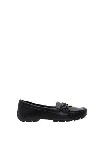 SEMBONIA black Women Synthetic Leather Loafer 69680SHB9627E8GS_1