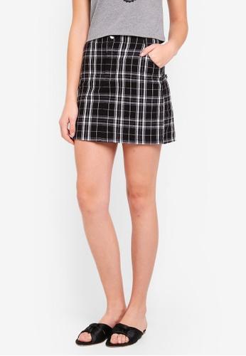 Hollister black Soft Skirt 699A6AA0781366GS_1