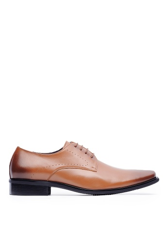 Life8 brown Men Formal Leather Shoes-09718-Brown LI283SH0GP82SG_1