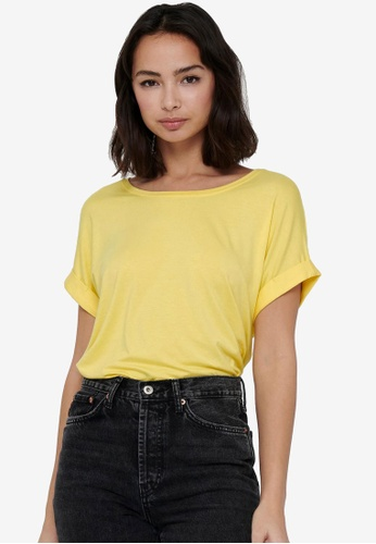 ONLY yellow Loose Fit T-Shirt 9954EAABA0C94EGS_1
