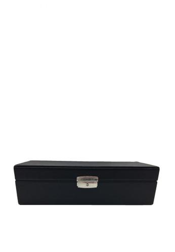 Stylesource black Watch Box 6-pc Holder SS731B ST896AC0KP0VPH_1
